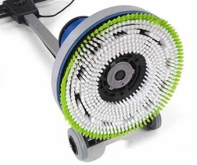 carpet cleaning scrubber
